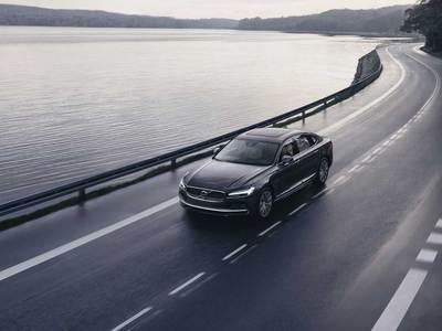 沃尔沃新款S90,北欧豪华旗舰型轿车